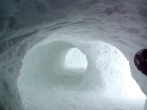 snow tunnel